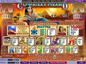 Cleopatra's Pyramid Payouts